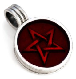 Pentagram - Bico Australia - metal resin pendant