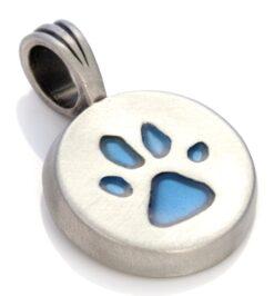 Paw - Bico Australia - silver resin pendant
