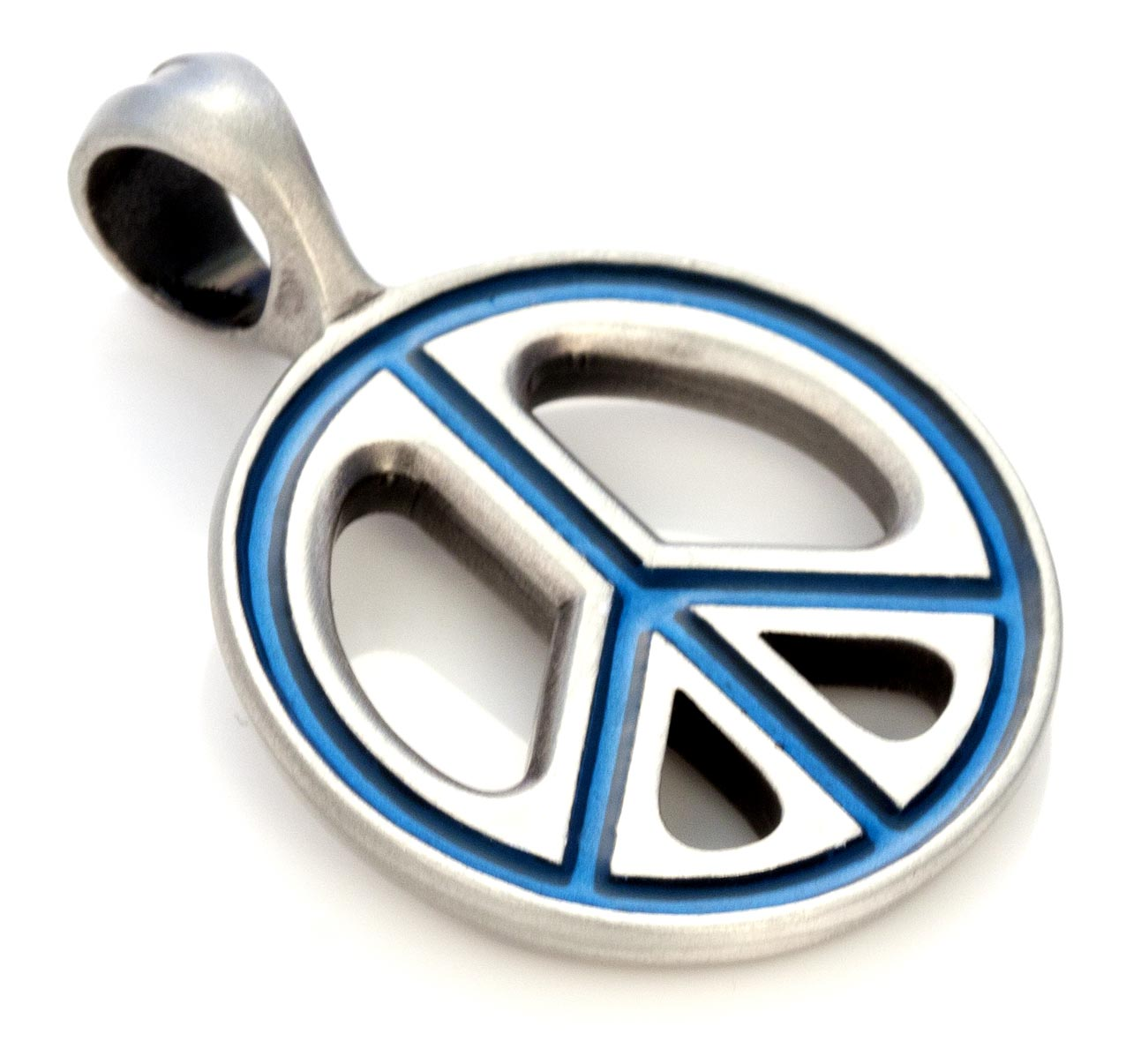 Pax - Bico Australia - silver resin pendant