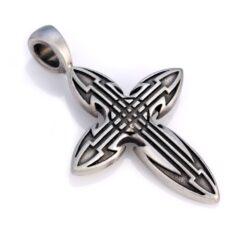 Celt - Bico Australia - men's silver cross pendant