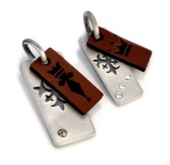 Kings & Queens - Bico Australia - couple's pendant pair