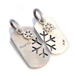 Eternal Love - Bico Australia - couple's pendant pair