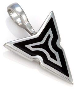Tyra Spear - Bico Australia - mens metal resin pendant
