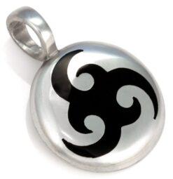 Nornali (Small) - Bico Australia - metal resin pendant