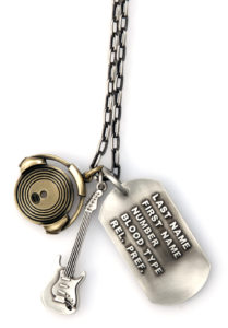 Session Grunt - Bico Australia - men's chain pendants