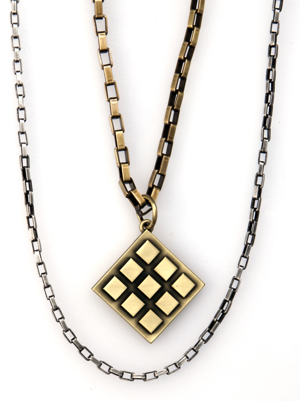 Diamond In The Rough - Bico Australia - mens necklace pendants