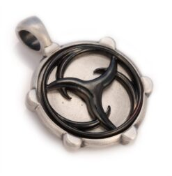 Veritas Wheel - Bico Australia - mens tribal spinning pendant