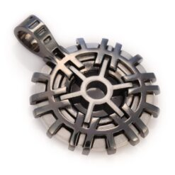 Architect - Bico Australia - men's two tone tribal pendant