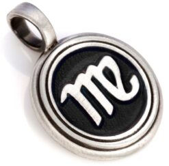 Virgo - Bico Australia - men's zodiac virgo resin pendant