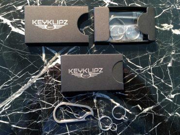 Bico Keyklipz Keyring Carabiner Box