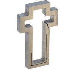 Keyklipz Titanium Cross Keychain Carabiner