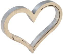 Keyklipz Titanium Heart Opener Keychain Carabiner